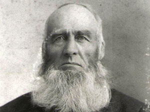 John Pound, who lent his name to John Pound Road, which led to his farm in the late 19th century